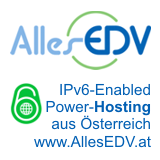IPv6 enabled Power-Hosting aus Östterreich - www.allesedv.at